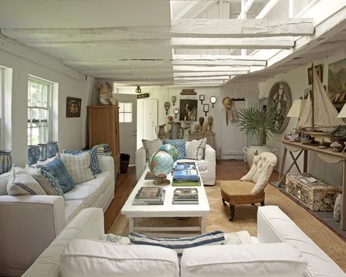 Beach Living Room Furniture Houzz - beach living room furniture