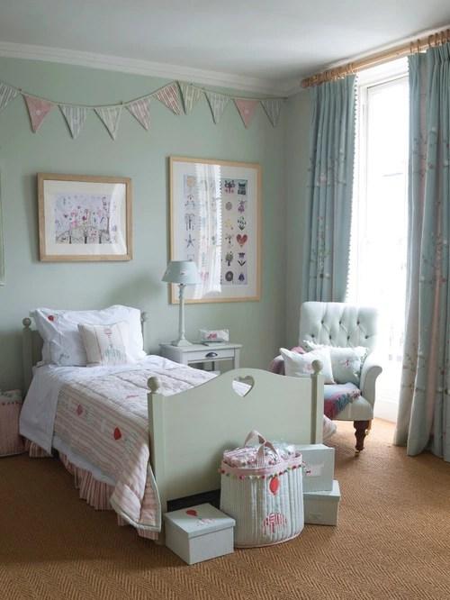 Dark Cozy Girl Wallpaper Duck Egg Blue Bedroom Houzz