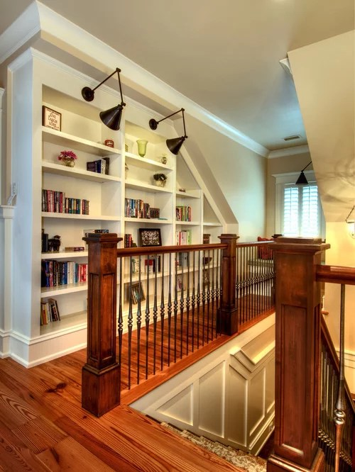 Bookcase With Crown Molding Houzz