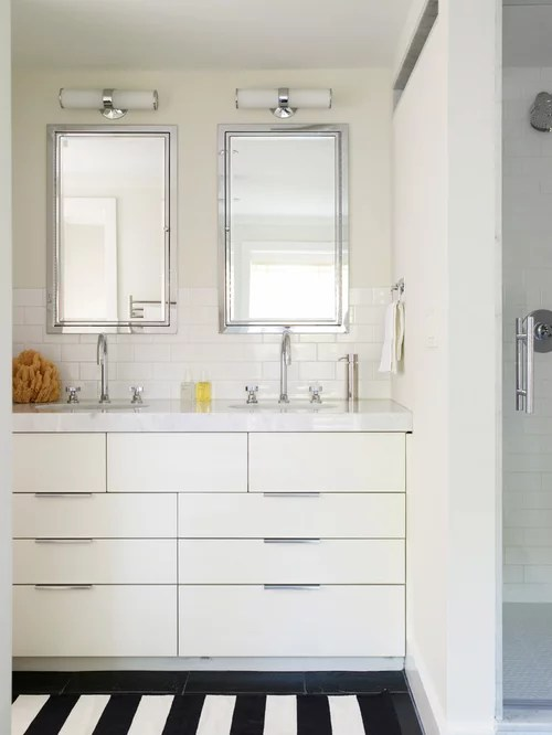 Double Sinks Small Home Design Ideas Pictures Remodel
