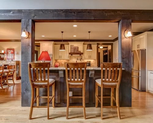 rustic galley eat kitchen design ideas remodels photos small eat kitchen design photos