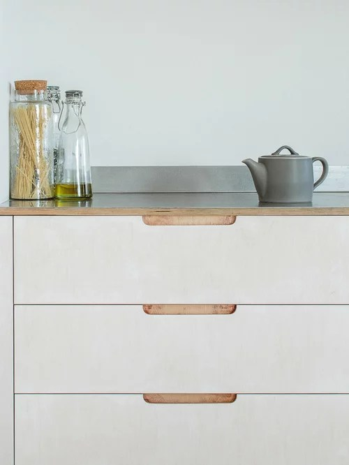 Cheap Kitchen Cabinets Seattle Exposed Plywood Edges | Houzz