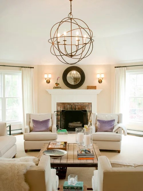 Living Room Light Fixture Houzz - living room light fixtures
