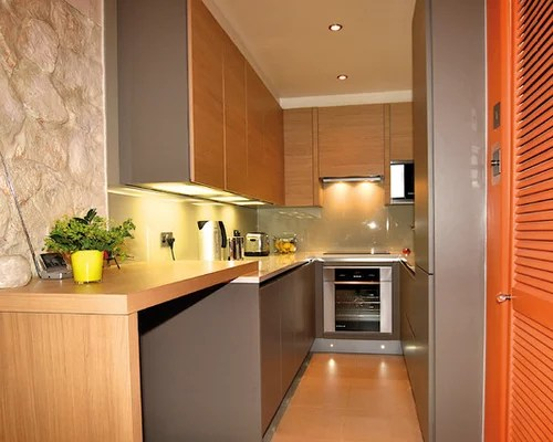 small shaped kitchen home design ideas renovations photos small contemporary shaped eat kitchen idea moscow flat