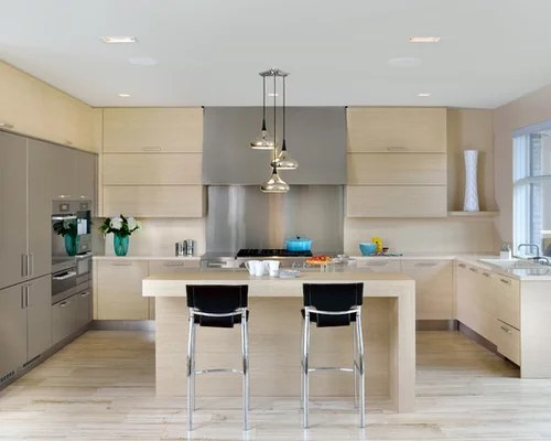 large scandinavian shaped open concept kitchen idea toronto scandinavian kitchen design ideas remodel pictures houzz