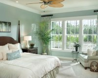 Tropical Bedroom Design Ideas, Remodels & Photos with Blue ...