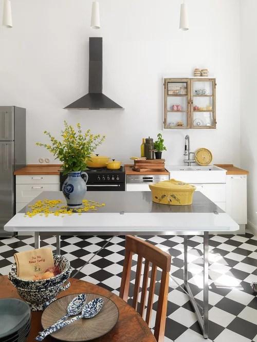 Landhausstil Wohnküche - Ideen \ Bilder - designer schranke holz keramik