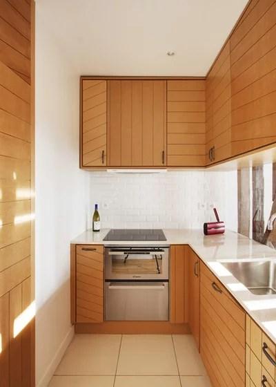 21 Tipps, wie Sie eine kleine Küche optimal nutzen - schmale fenster kuechen gestaltung