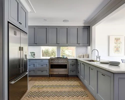 inspiration large transitional shaped eat kitchen sydney inspiration small transitional single wall eat kitchen