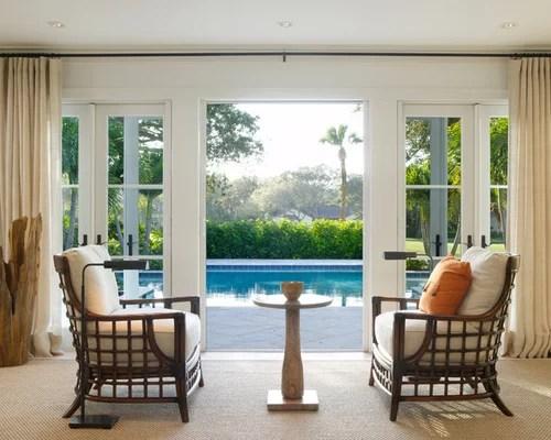 Tropical Small Living Room Ideas \ Design Photos Houzz - tropical living room furniture
