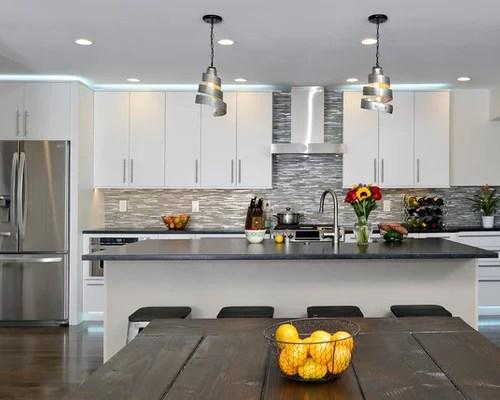 eat kitchen design ideas renovations photos brown inspiration small transitional single wall eat kitchen