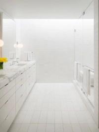 All White Bathroom | Houzz