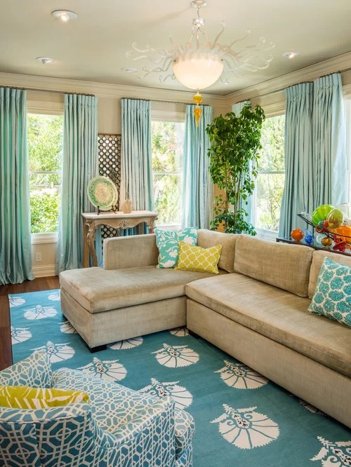 Beach Style Living Room Houzz - beach style living room