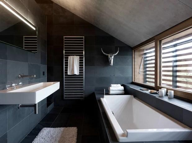 Schön Ein Schwarzes Bad Zieht Uns In Seinen Bann   Badezimmer Egal Wo