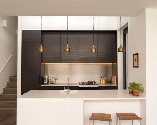contemporary kitchen peninsula design ideas remodel pictures small contemporary shaped eat kitchen idea moscow flat