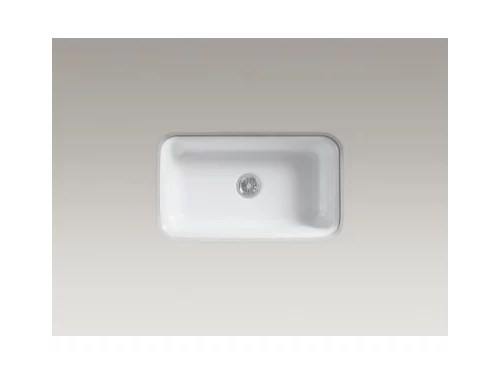 Kohler Cast Iron Or Rohl Fireclay Kitchen Sink