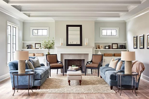 New This Week 5 Great Transitional-Style Living Rooms - transitional style living room