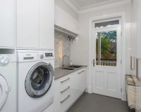 Galley Laundry Room Design Ideas, Renovations & Photos