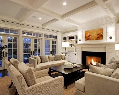 Huge Traditional Living Room Ideas \ Design Photos Houzz - traditional living room ideas