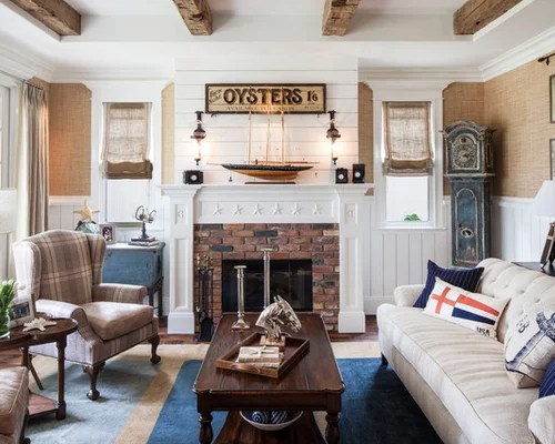 Nautical Living Room Ideas Ideas, Pictures, Remodel And Decor