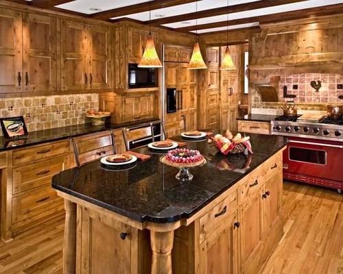 knotty alder cabinets home design ideas pictures remodel decor rustic kitchen design ideas remodel pictures houzz