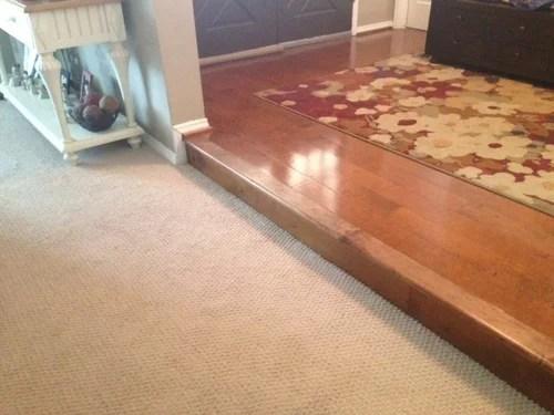 People Keep Tripping In Step Down Living Room