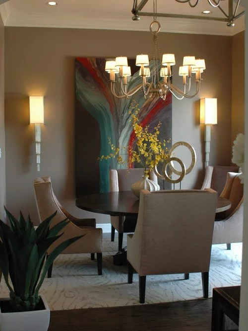 Two Tone Dining Room Benjamin Moore Mesa Verde Tan Ideas, Pictures, Remodel And