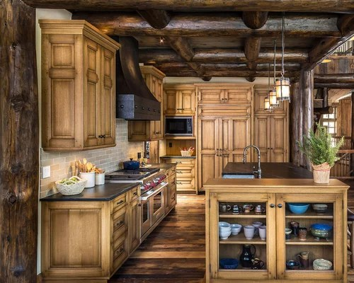 Eichentisch Rustikal Rustic Oak Cabinets Home Design Ideas, Pictures, Remodel
