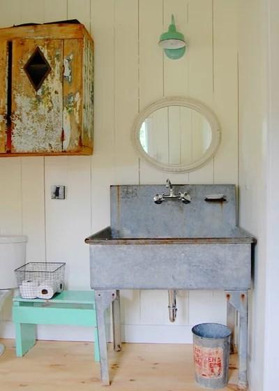 12 idées déco pour une jolie salle de bains campagne