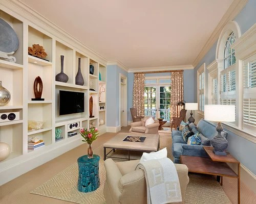 Living Room Wall Unit Houzz - wall units for living rooms