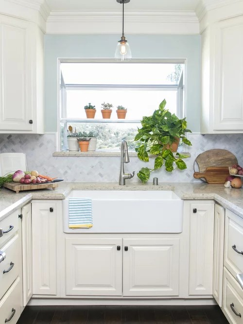 san diego kitchen design ideas renovations photos mosaic tile inspiration small transitional shaped kitchen remodel
