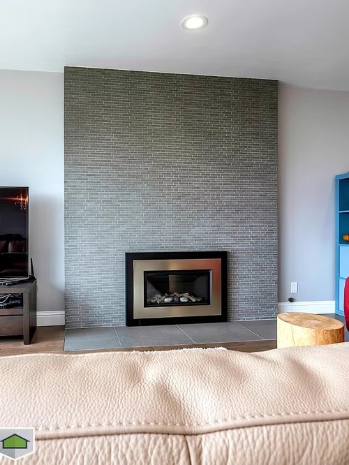 Denver Home Builders Modern Fireplace Mantel | Houzz
