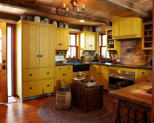 rustic kitchen design ideas remodel pictures yellow cabinets images design rustic kitchen johngupta kitchen designs