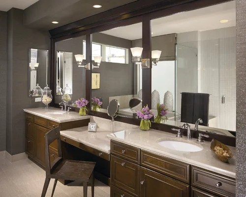 Makeup Vanity Height Makeup Station Ideas, Pictures, Remodel And Decor