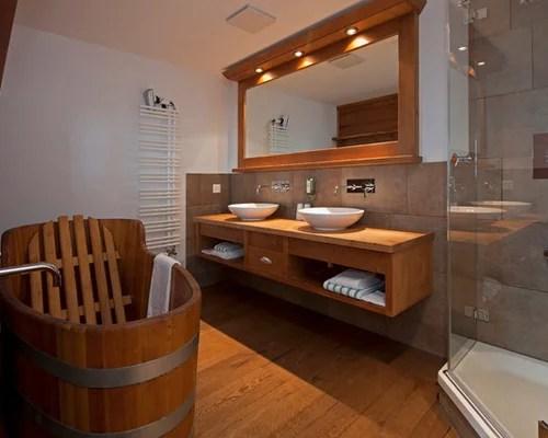 Badezimmer Im Chalet Stil   Badezimmer Chalet