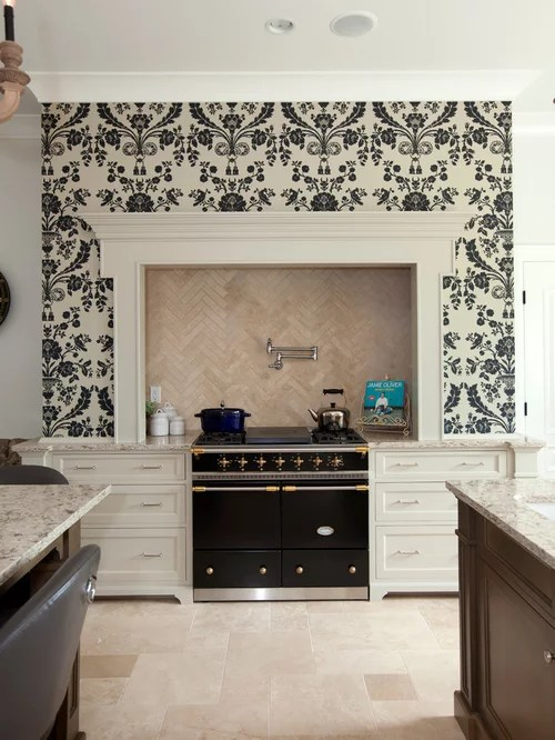 transitional kitchen design vancouver beige backsplash roundup wallpaper backsplash apartment therapy