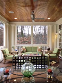 Stained Beadboard Ceiling | Houzz
