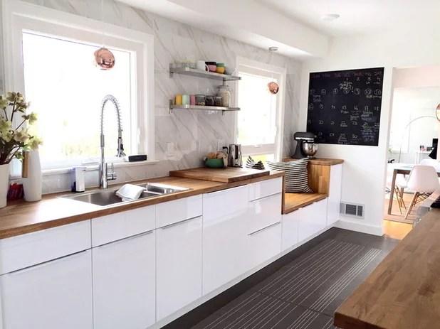 modern kitchen galley kitchen vanboxel tile marble kitchen counter backsplash