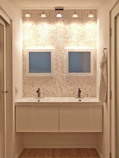 Subway Tile Bathroom Ikea Godmorgon | Houzz