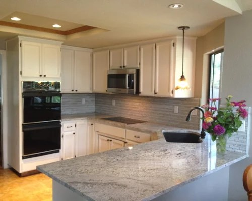 blanco gabrielle granite home design ideas pictures remodel small eat kitchen design photos cork floors