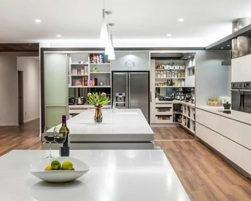 contemporary walk pantry home design ideas photos small contemporary shaped eat kitchen idea moscow flat