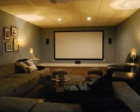 Basement Media Room Ideas, Pictures, Remodel and Decor