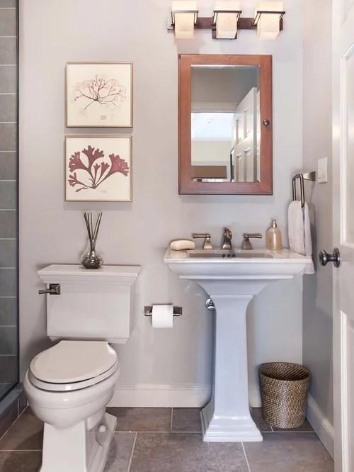 Simple Bathroom Houzz - simple bathroom designs