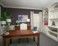 Transitional Home Office Design Ideas, Renovations ...
