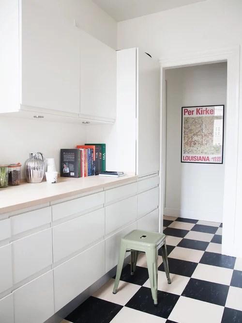 cuisine retro grise cuisine étro moderne avec carrelage ancien aux scandinavian kitchen design ideas remodel pictures houzz