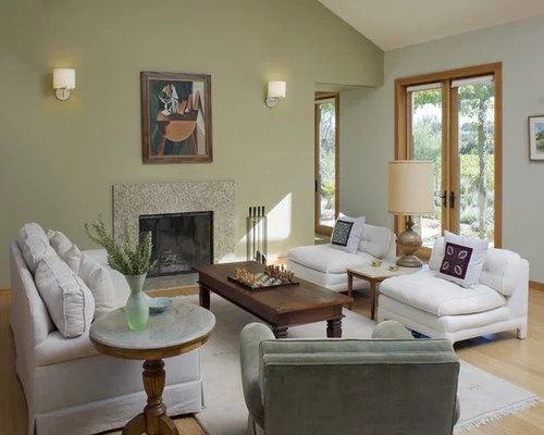 Best Green Living Room Design Ideas & Remodel Pictures | Houzz