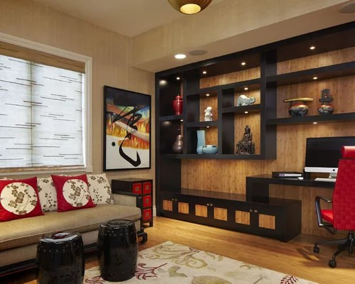 Best Asian Home Office Design Ideas & Remodel Pictures | Houzz