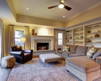 Tray Ceiling Family Room Design Ideas, Remodels & Photos ...