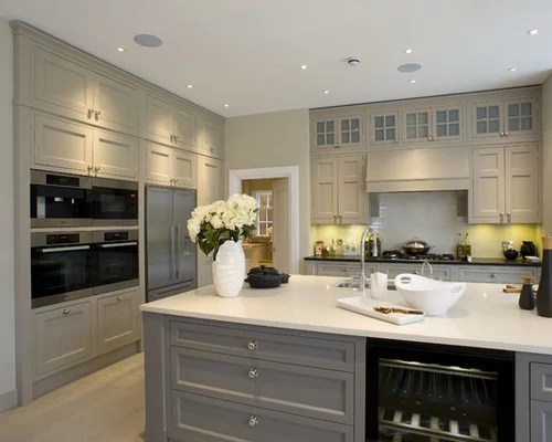 edgecomb gray kitchen paint home design ideas pictures remodel inspiration small transitional single wall eat kitchen