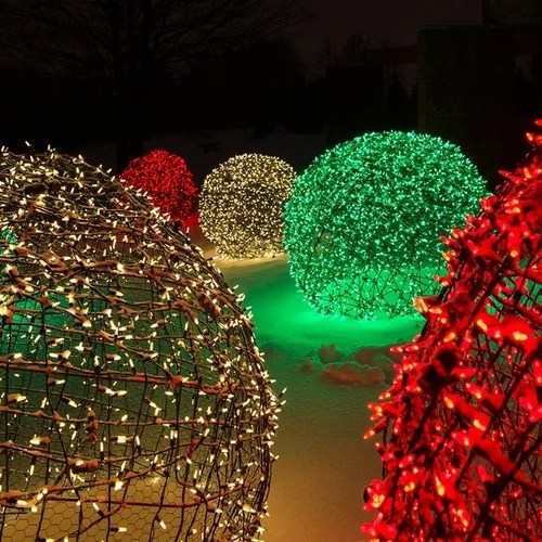 Decoration De Noel Exterieur Video Creating Led Light Balls - Unique Outdoor Decorations